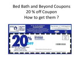 Bed Bath And Beyond Online Coupon Image