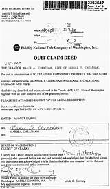Photos of Quit Claim Deed House