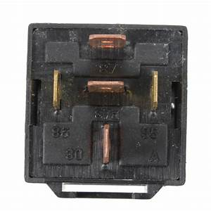 Black 12v 30  40 Amp Car Auto Automotive Relay With Wiring