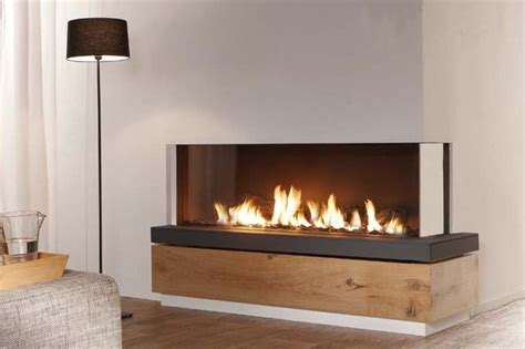 contemporary corner gas fireplace best 25 two sided fireplace ideas on