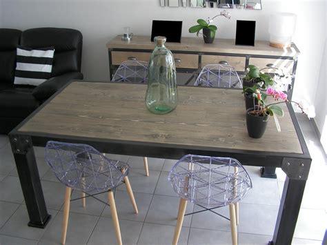 table cuisine industrielle table a manger style industriel 28 images indogate