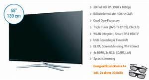 Samsung Wandhalterung 55 Zoll : samsung ue55h6470 g nstig kaufen bei ~ Markanthonyermac.com Haus und Dekorationen