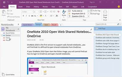 Pages Onenote Move Specify Section Them Demonstration