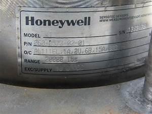 Honeywell Model 41 10vdc 20 000 Lbs  Precision Low Profile Load Cell