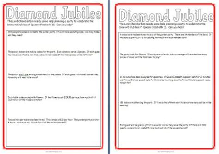 free diamond jubilee teaching resources posters printables worksheets banners royal