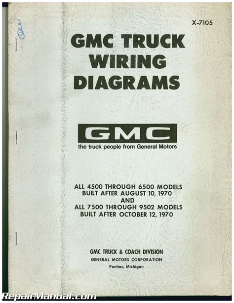 Used Gmc Truck Wiring Diagrams