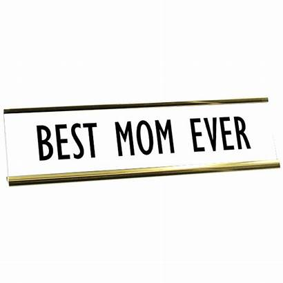 Mom Plate Desk Ever Plates 904custom
