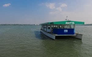 Boat Service From Vaikom by India S Solar Powered Ferry Service Started At