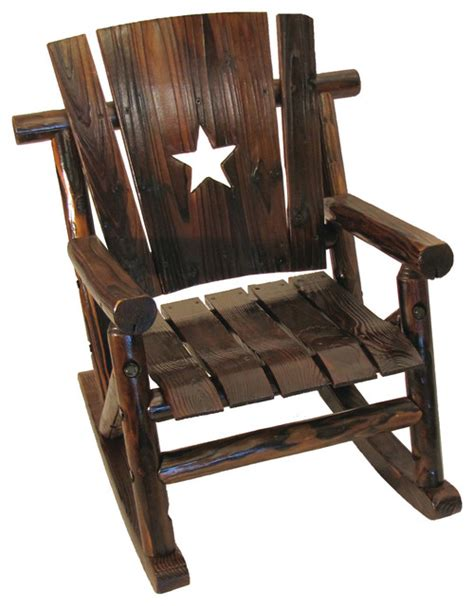 leigh country rocking chair char log junior cutout