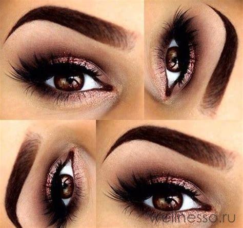 Дневной макияж для карих глаз секретные лайфхаки
