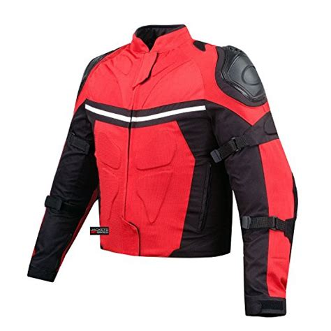 buy motorcycle jackets new pro mesh motorcycle jacket rain waterproof red l buy