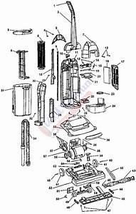 Hoover U5280  U5288  U5294  U5296 Windtunnel Bagless