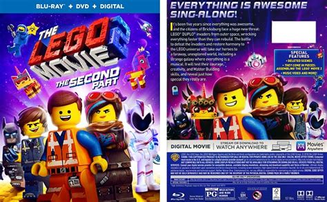 lego     part blu ray dvd combo pack