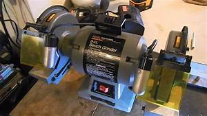 U0026quot Picked U0026quot  Sears Craftman 1 Hp 8 Inch Power Grinder With Lights