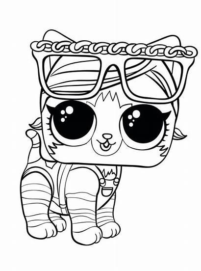 Kleurplaat Kitty Fun Pets Persoonlijke Maak Kleurplaten
