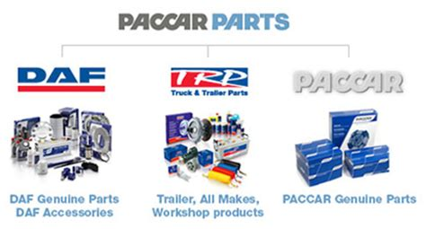 paccar inc about paccar parts daf corporate