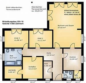 Winkelbungalow 120 15 Einfamilienhaus Neubau Massivbau