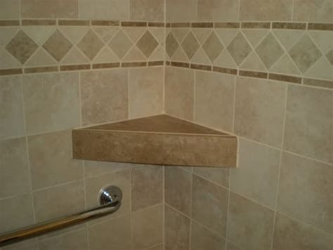 custom shower tile shelf yelp