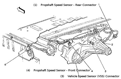 93 Ranger Wiring Diagram Auto Transmission by Astrosafari Is This The Rear Speed Sensor