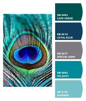 peacock paint colors paint colors from chip it by