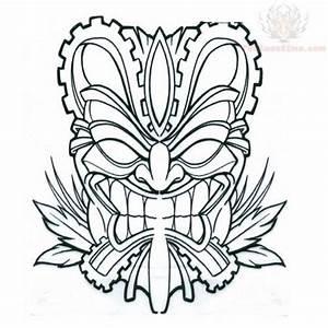 tiki design indiana jones party pinterest tiki mask With tiki letter stencils