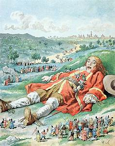 Scene From Gullivers Travels Painting by Frederic Lix
