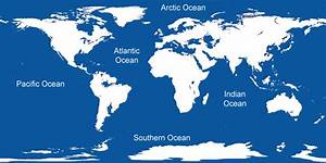 What Are The Five Oceans Of The World