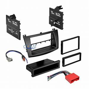 Car Radio Stereo Single Double Din Dash Kit Wire Harness