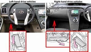 Fuse Box Diagram  U0026gt  Toyota Prius  Xw30  2010