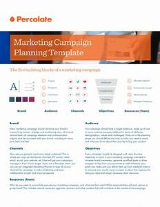 Marketing campaign plan template free download for Campaign schedule template
