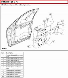 How Do You Remove The Door Panel On A 2006 Lincoln Zephyr
