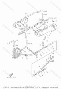 Yamaha Boat 2014 Oem Parts Diagram For Exhaust  2