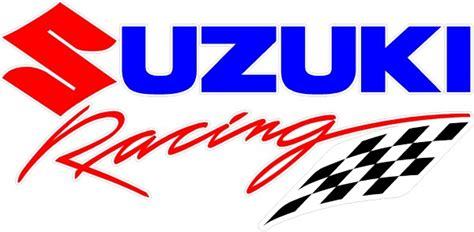Full Color Suzuki Racing Decal / Sticker 05