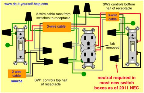 Wiring 2 Schematic In One Box Diagram by Light Switch Wiring Diagrams Do It Yourself Help