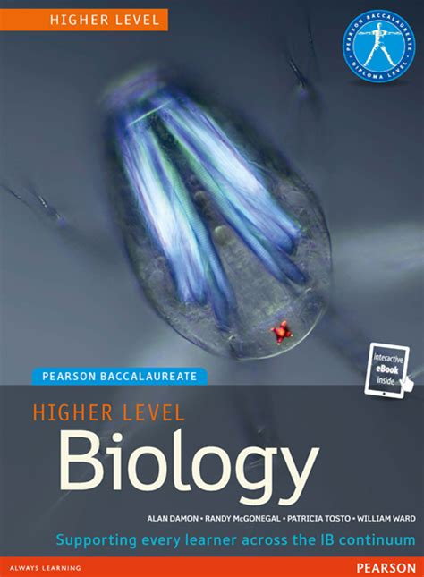 Pearson Copy Book Bag by Pearson Baccalaureate Biology Higher Level Print And
