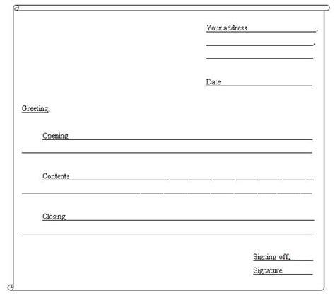 friendly letter worksheet  grade images  images