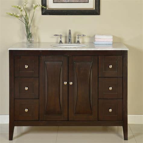 silkroad exclusive  single sink cabinet bathroom vanity