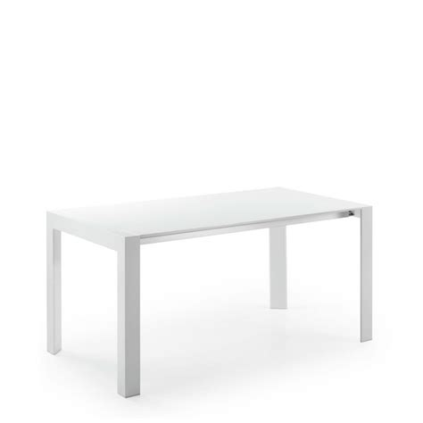 table laquee blanche extensible table 224 manger blanc laqu 233 newport extensible by drawer fr