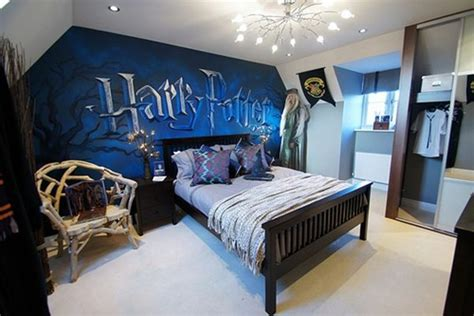 Girly Bedroom Ideas With Harry Potter Decoration