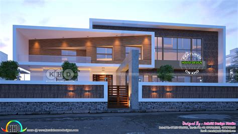 New And Latest Trendy Contemporary House