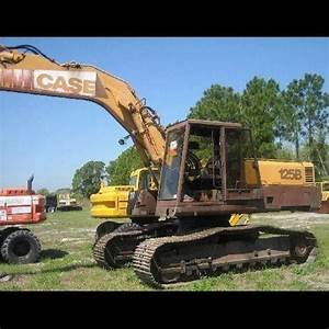 Case 125b Excavator Service Repair Manual Instant Download