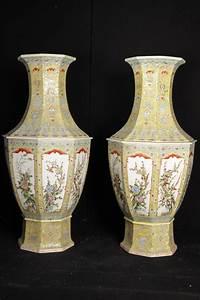 Chinesisches Porzellan Kaufen : pair chinesisches porzellan famille rose vasen vase urne ~ Michelbontemps.com Haus und Dekorationen