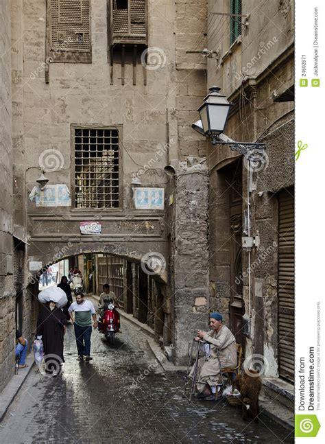 sc 232 ne de rue dans la vieille ville egypte du caire photo 233 ditorial image 24602671