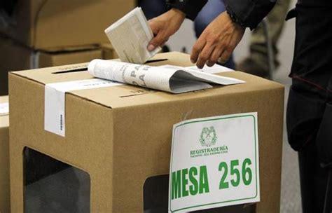 elecciones  como consultar tu puesto de votacion