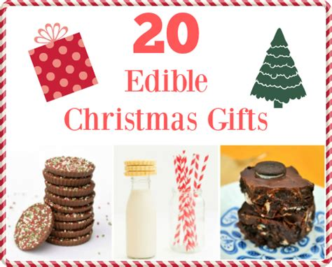 20 edible gifts to save you money this christmas