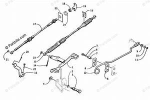 Arctic Cat Atv 2000 Oem Parts Diagram For Shifter Assembly