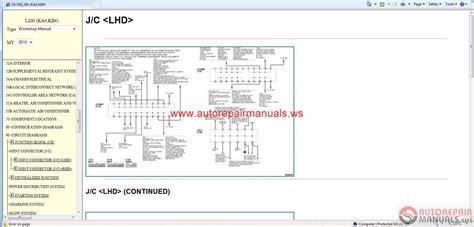 mitsubishi l200 2015 service manual cd triton page 2 auto repair manual forum heavy