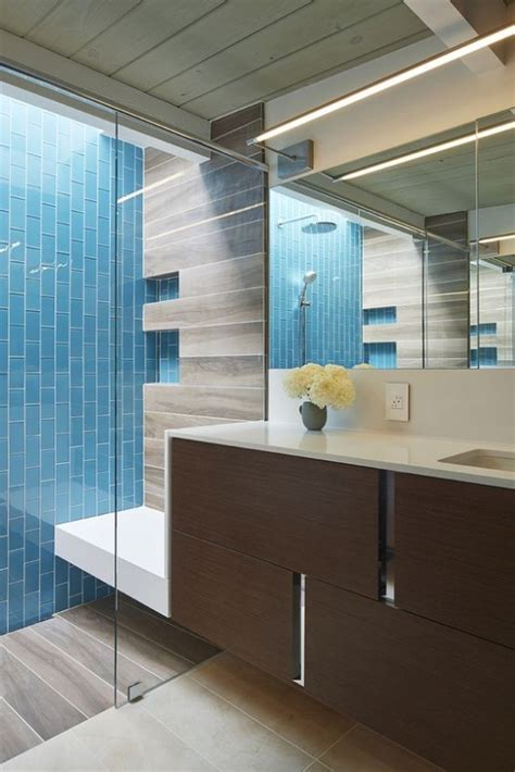 tile designs for bathroom 35 trendy mid century modern bathrooms to get inspired