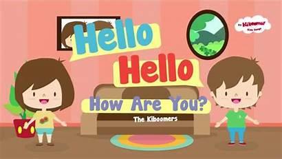 Hello Song Lyrics Songs Children Each English