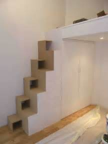 Mezzanine Avec Escalier Blocs Tiroirs by Les Queues D Arondes 187 Ensemble Escalier Japonais